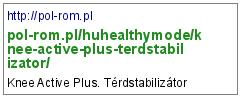 http://pol-rom.pl/huhealthymode/knee-active-plus-terdstabilizator/